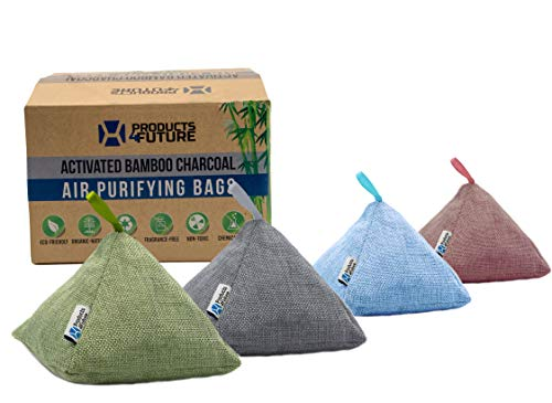 Naturally Activated Bamboo Charcoal Air Purifying Bags