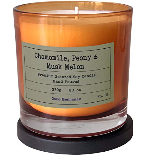 CoCo Benjamin Highly Scented Hand Poured Soy Candle