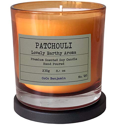 CoCo Benjamin Patchouli Soy Candle
