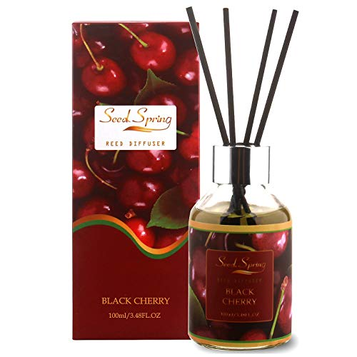 Seed Spring Black Cherry Scented Reed Diffuser