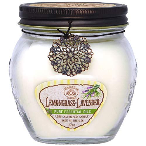 Way Out West Lavender Lemongrass Aromatherapy Scented Candle