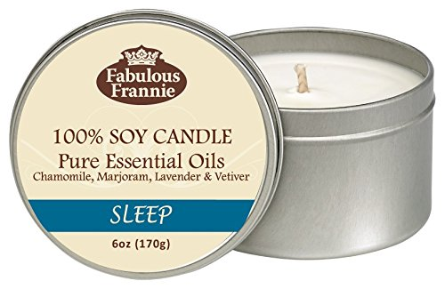 Fabulous Frannie Sleep Travel Tin Candle made with Pure Essential Oils