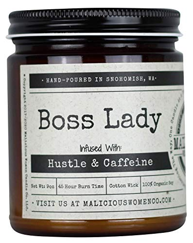 All-Natural Candle by Malicious Women