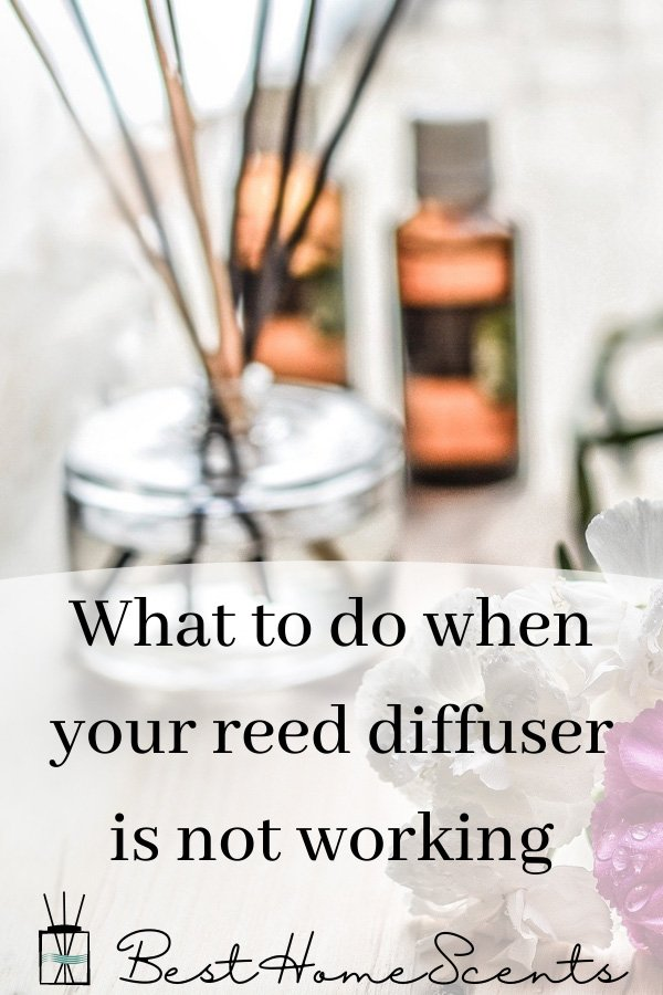 Reed diffuser not working pin