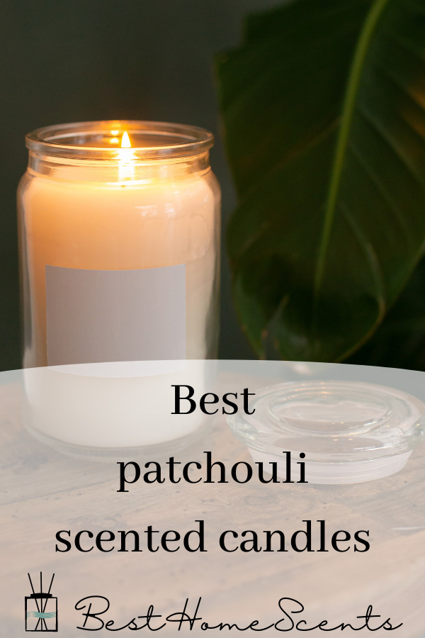 Best patchouli scented candles