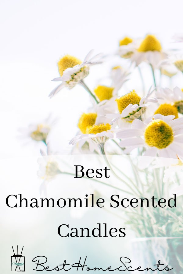 Best Chamomile scented candles pin